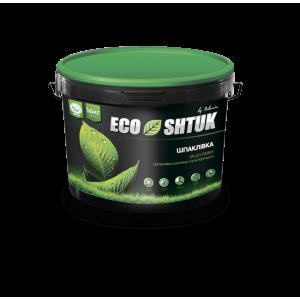 Шпаклевка Polimin EcoShtuk Fat Lime Putty мультифиниш 16 кг