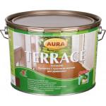 Масло для дерева AURA Terrace коричневый 9 л