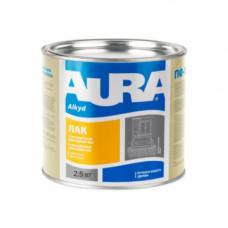 Паркетный лак AURA алкидно-уретановый полуматовый