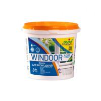 Эмаль для окон и дверей Windoor Aqua Nano farb  0.9 л Белый (wdl1)