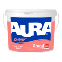 Грунтовка-краска адгезионная AURA Dekor Grund белая