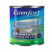 Алкидная эмаль краска Comfort (PolyColor) ПФ 115 черная
