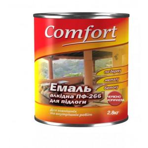 Эмаль для бетонных полов ПФ 266 Comfort красно-коричневая