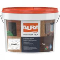 Лазурь для деревянных фасадов Aura ColorWood Aqua (белый)