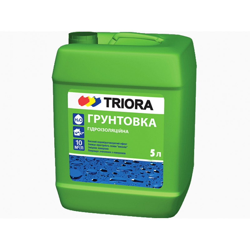 Грунтовка гидроизоляционная TRIORA 5 л