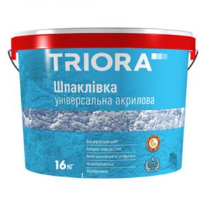 Шпаклевка универсальная акриловая TRIORA