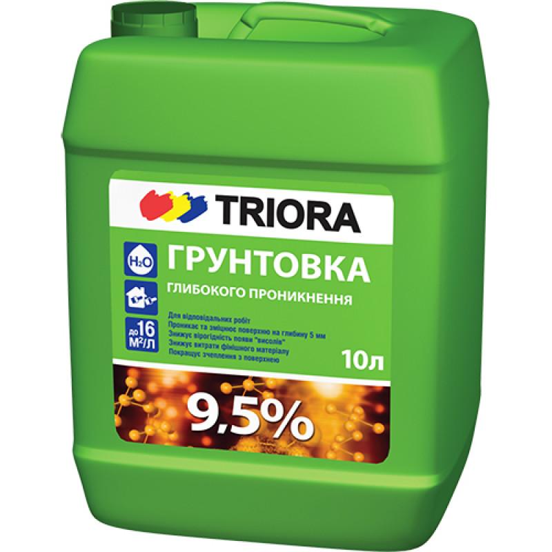 Грунтовка глубокого проникновения TRIORA 10 л