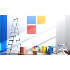 Выбор краски для потолков и стен. Виды строительных красок.