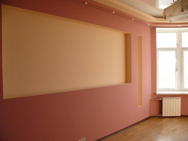 покраска стен квартиры